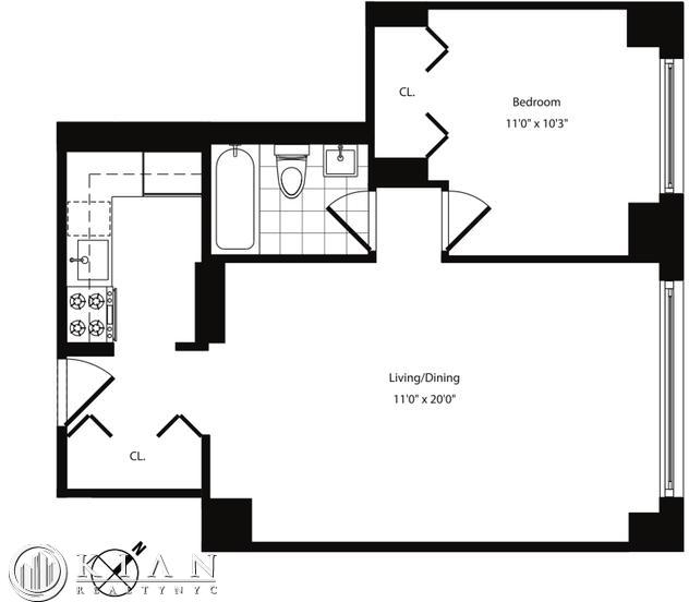 1 Bedroom, Yorkville Rental in NYC for $4,410 - Photo 2