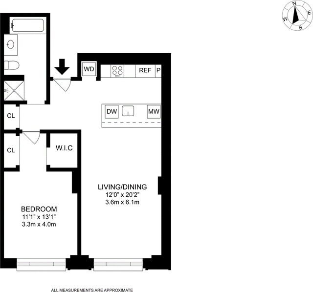 1 Bedroom, Chelsea Rental in NYC for $9,000 - Photo 2