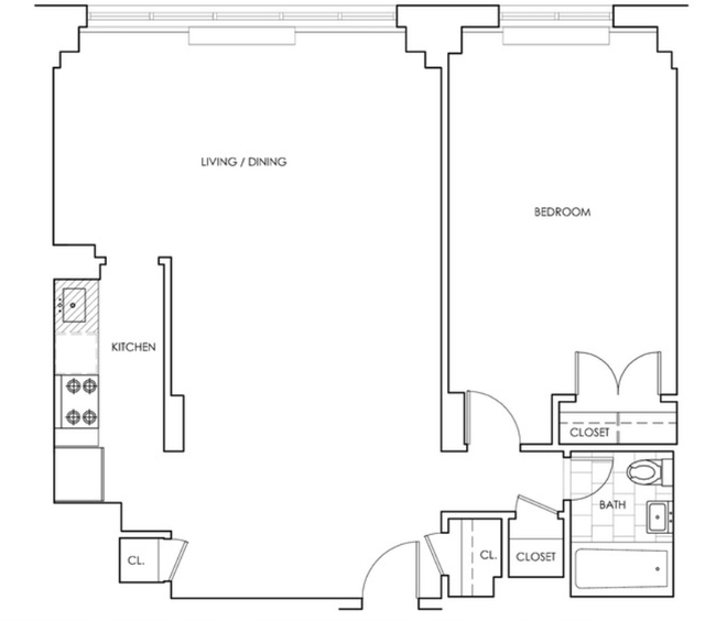 1 Bedroom, Rose Hill Rental in NYC for $4,249 - Photo 2