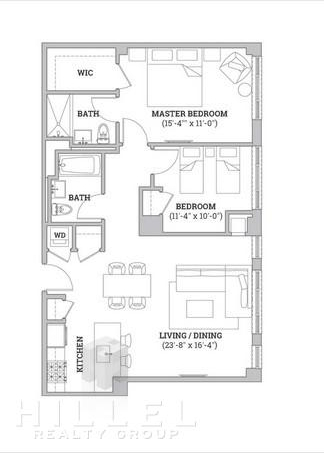 1 Bedroom, Flatbush Rental in NYC for $2,650 - Photo 2
