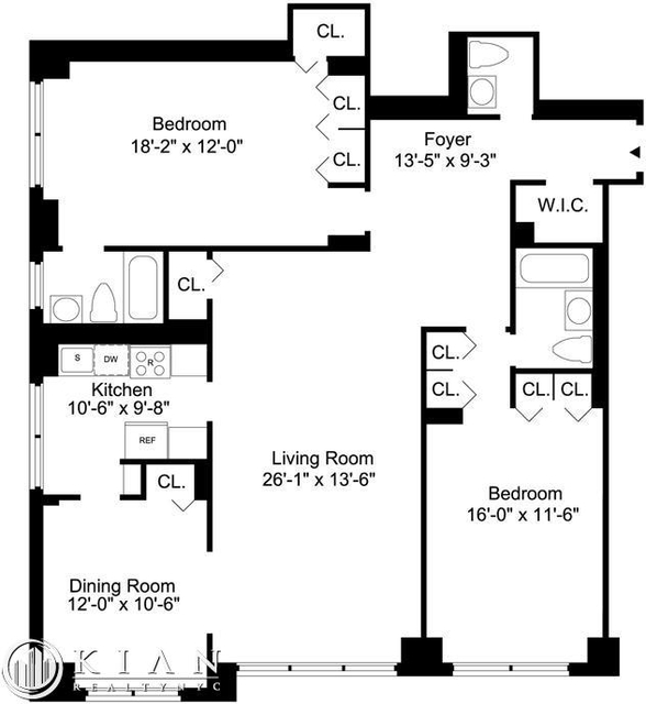 2 Bedrooms, Sutton Place Rental in NYC for $6,229 - Photo 2