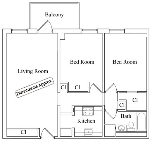 2 Bedrooms, Two Bridges Rental in NYC for $4,375 - Photo 2