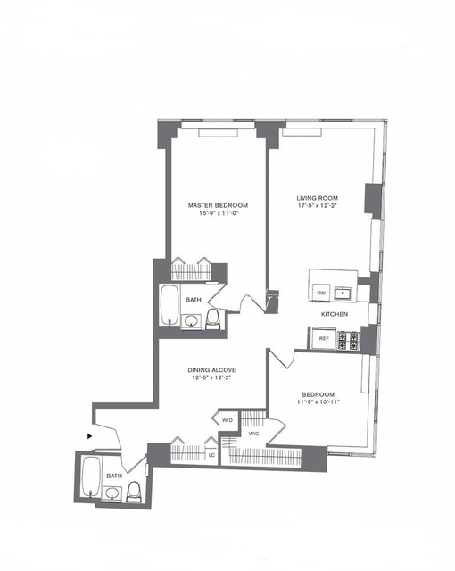 2 Bedrooms, Tribeca Rental in NYC for $7,250 - Photo 2