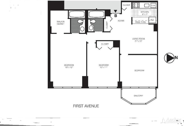 3 Bedrooms, Sutton Place Rental in NYC for $6,599 - Photo 2