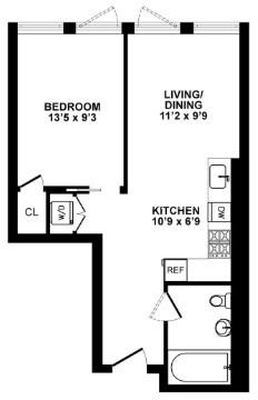 1 Bedroom, Crown Heights Rental in NYC for $2,692 - Photo 2