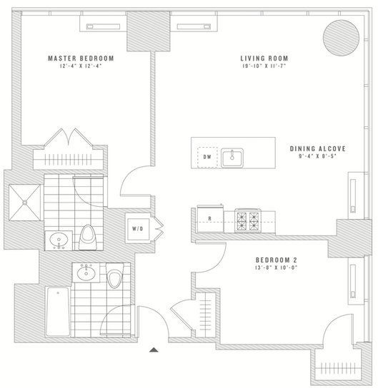 2 Bedrooms, Chelsea Rental in NYC for $6,548 - Photo 2