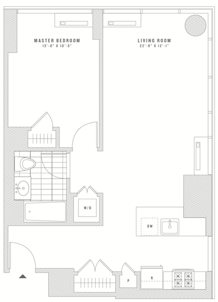 1 Bedroom, Chelsea Rental in NYC for $4,057 - Photo 2