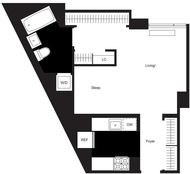 Studio, Chelsea Rental in NYC for $4,375 - Photo 2