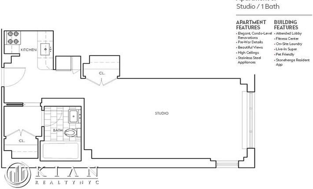 Studio, Murray Hill Rental in NYC for $3,231 - Photo 2