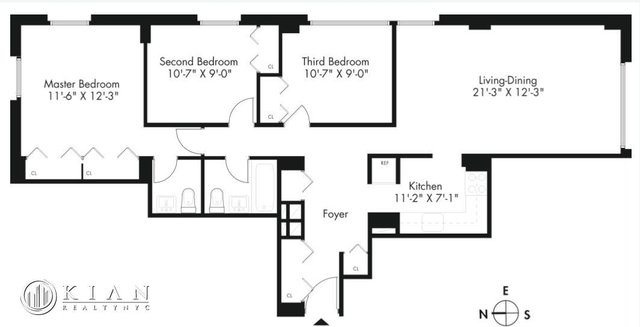 3 Bedrooms, Kips Bay Rental in NYC for $5,673 - Photo 1