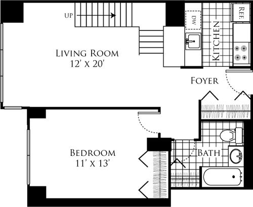 1 Bedroom, Hell's Kitchen Rental in NYC for $4,491 - Photo 2