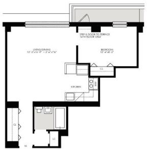 1 Bedroom, Kips Bay Rental in NYC for $3,172 - Photo 2