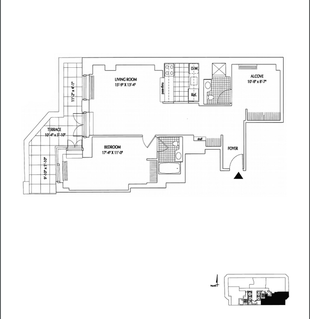 1 Bedroom, Financial District Rental in NYC for $5,480 - Photo 2