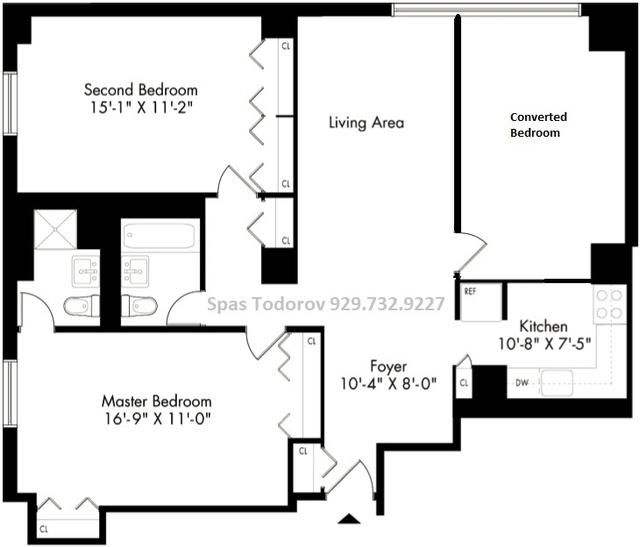 2 Bedrooms, Kips Bay Rental in NYC for $4,300 - Photo 2