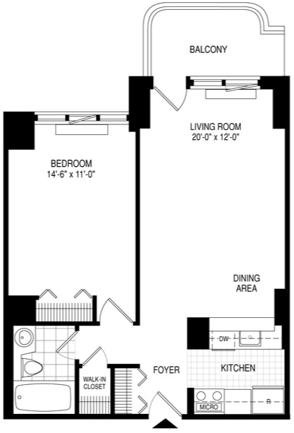 1 Bedroom, Theater District Rental in NYC for $4,350 - Photo 2