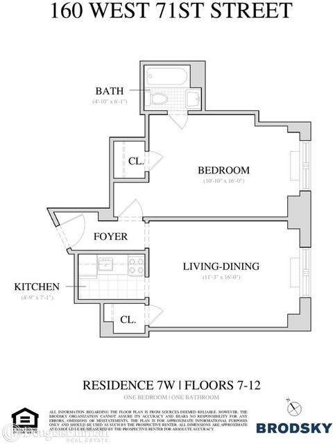 1 Bedroom, Lincoln Square Rental in NYC for $3,195 - Photo 2