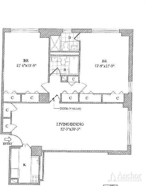 2 Bedrooms, Yorkville Rental in NYC for $6,550 - Photo 2