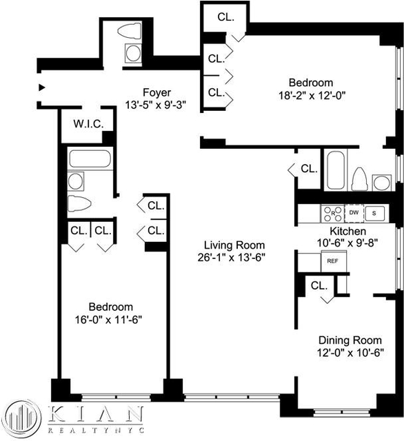 2 Bedrooms, Sutton Place Rental in NYC for $7,237 - Photo 2