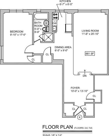 1 Bedroom, Midtown East Rental in NYC for $3,775 - Photo 2