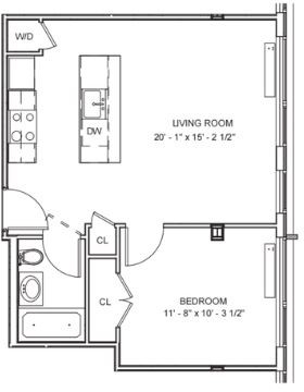 1 Bedroom, DUMBO Rental in NYC for $3,662 - Photo 2