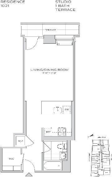 Studio, Financial District Rental in NYC for $3,158 - Photo 2
