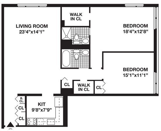 2 Bedrooms, Battery Park City Rental in NYC for $5,720 - Photo 1