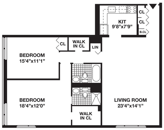 2 Bedrooms, Battery Park City Rental in NYC for $5,405 - Photo 2