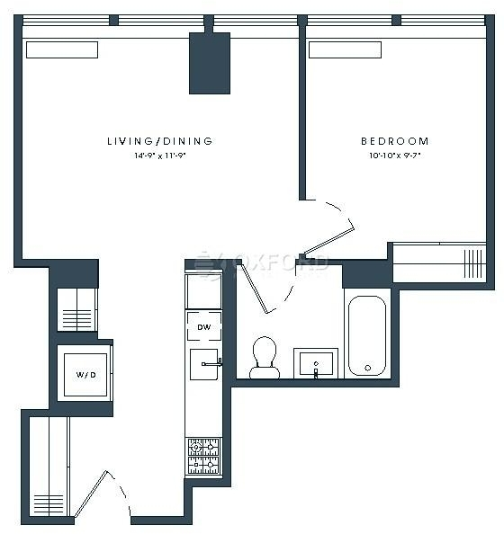 1 Bedroom, Financial District Rental in NYC for $4,377 - Photo 1