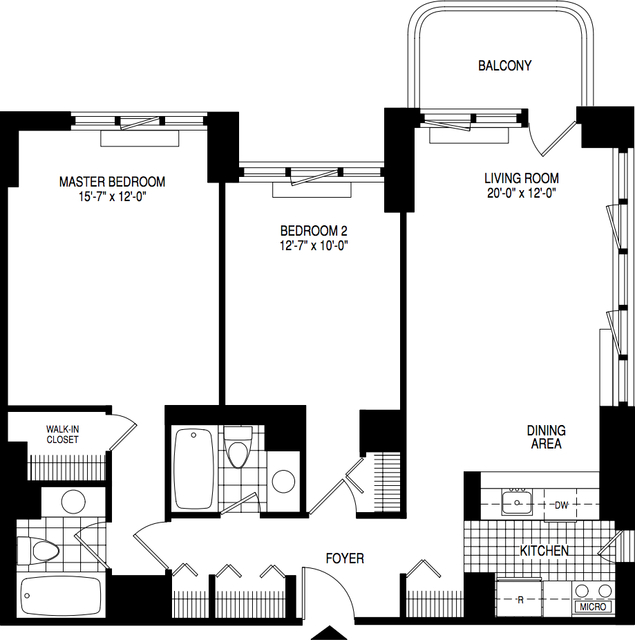 1 Bedroom, Theater District Rental in NYC for $6,249 - Photo 2