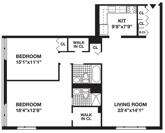 2 Bedrooms, Battery Park City Rental in NYC for $5,580 - Photo 2