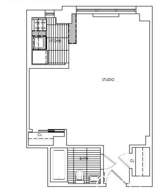 Studio, Sutton Place Rental in NYC for $3,038 - Photo 2