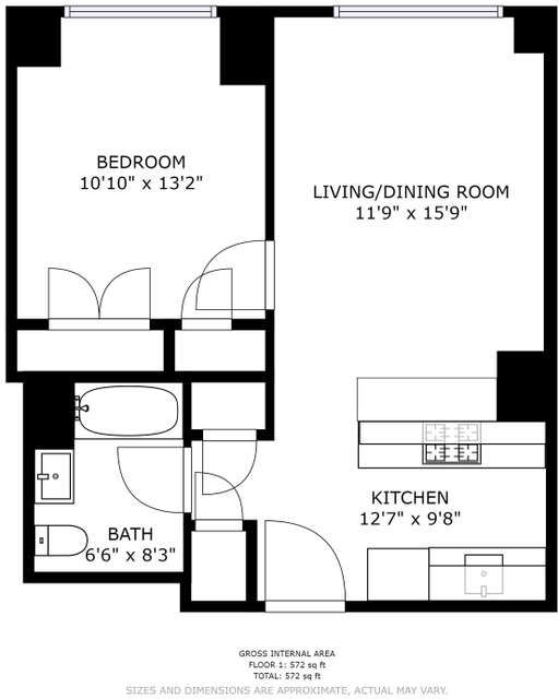1 Bedroom, Two Bridges Rental in NYC for $4,071 - Photo 2