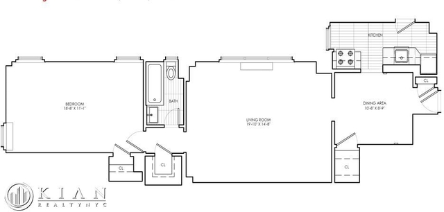 1 Bedroom, Sutton Place Rental in NYC for $4,340 - Photo 2