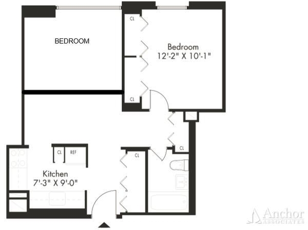 2 Bedrooms, Kips Bay Rental in NYC for $2,900 - Photo 2