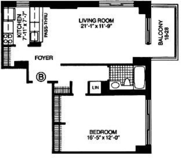 1 Bedroom, Theater District Rental in NYC for $4,180 - Photo 2