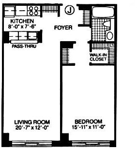1 Bedroom, Theater District Rental in NYC for $3,965 - Photo 2