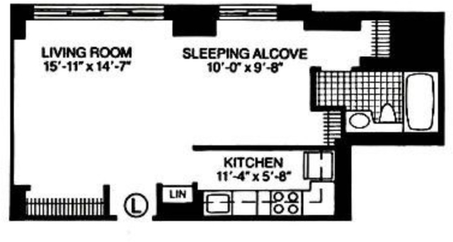 Studio, Theater District Rental in NYC for $3,085 - Photo 2