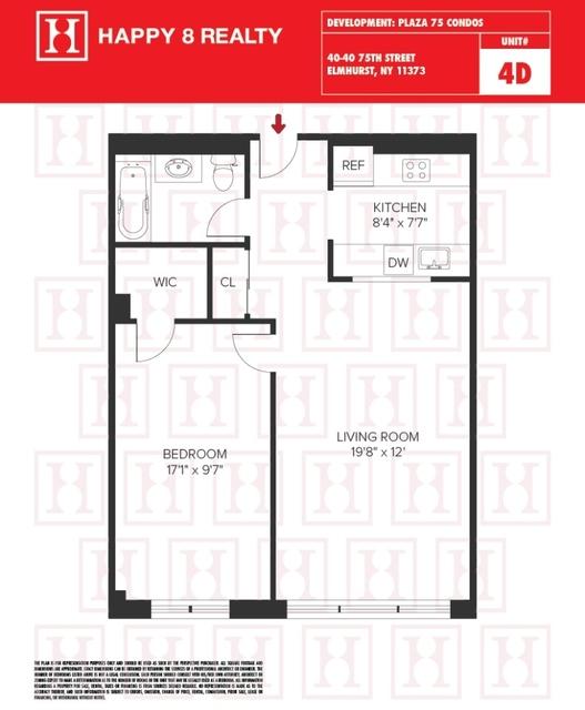 1 Bedroom, Elmhurst Rental in NYC for $2,300 - Photo 2
