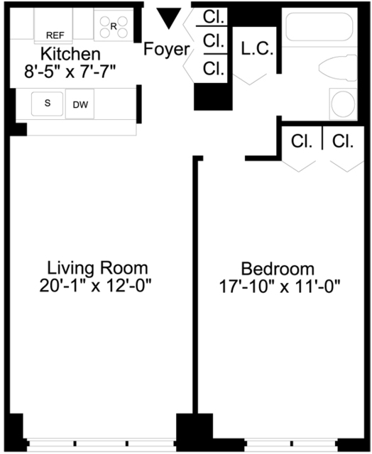 1 Bedroom, Lincoln Square Rental in NYC for $4,195 - Photo 1