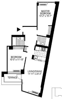 2 Bedrooms, Financial District Rental in NYC for $5,403 - Photo 2