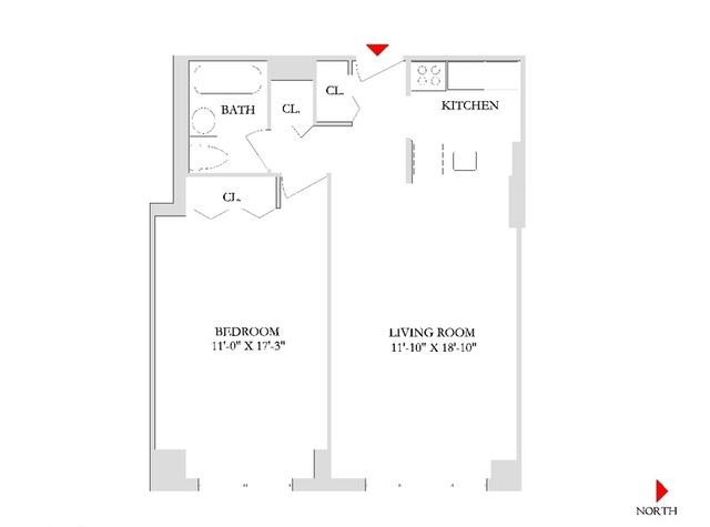 1 Bedroom, Rose Hill Rental in NYC for $3,925 - Photo 1