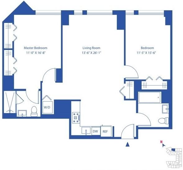 2 Bedrooms, Astoria Rental in NYC for $3,775 - Photo 2