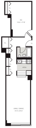 1 Bedroom, Financial District Rental in NYC for $3,535 - Photo 2