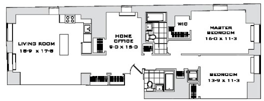 2 Bedrooms, Financial District Rental in NYC for $5,820 - Photo 2