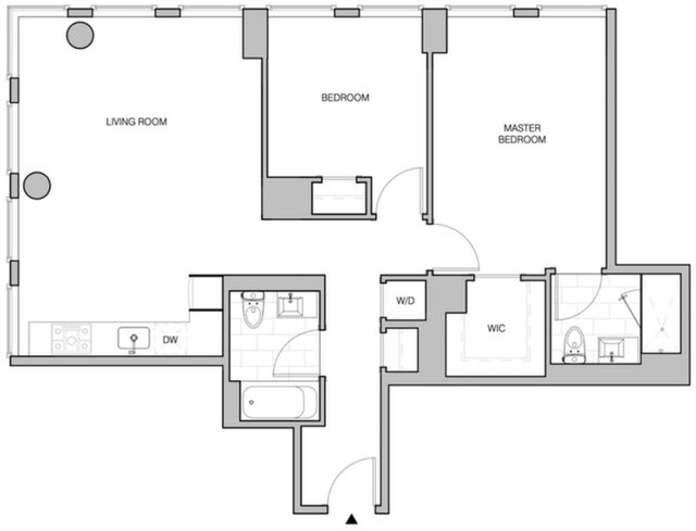 2 Bedrooms, Williamsburg Rental in NYC for $6,295 - Photo 2