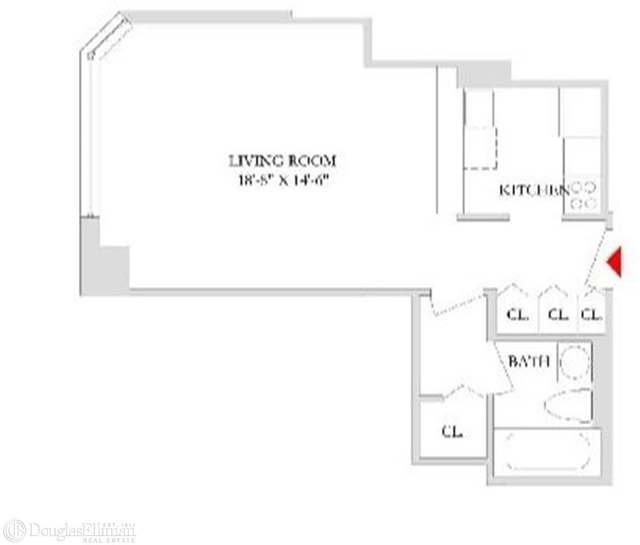 Studio, Rose Hill Rental in NYC for $3,146 - Photo 2