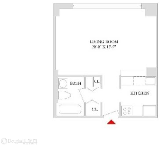 Studio, Rose Hill Rental in NYC for $3,165 - Photo 2