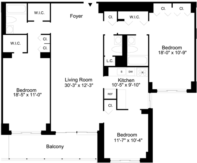 3 Bedrooms, Sutton Place Rental in NYC for $7,395 - Photo 2