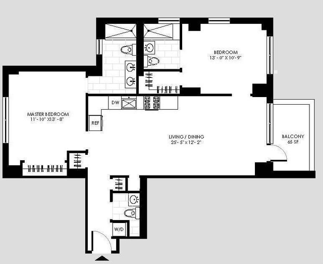 2 Bedrooms, Yorkville Rental in NYC for $5,818 - Photo 2