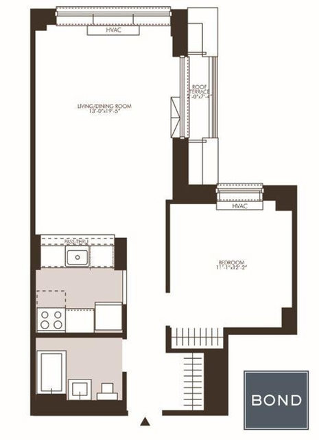 1 Bedroom, Rose Hill Rental in NYC for $4,029 - Photo 2